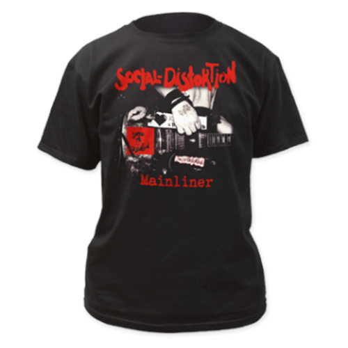 Social Distortion - Mainliner Album (Black)