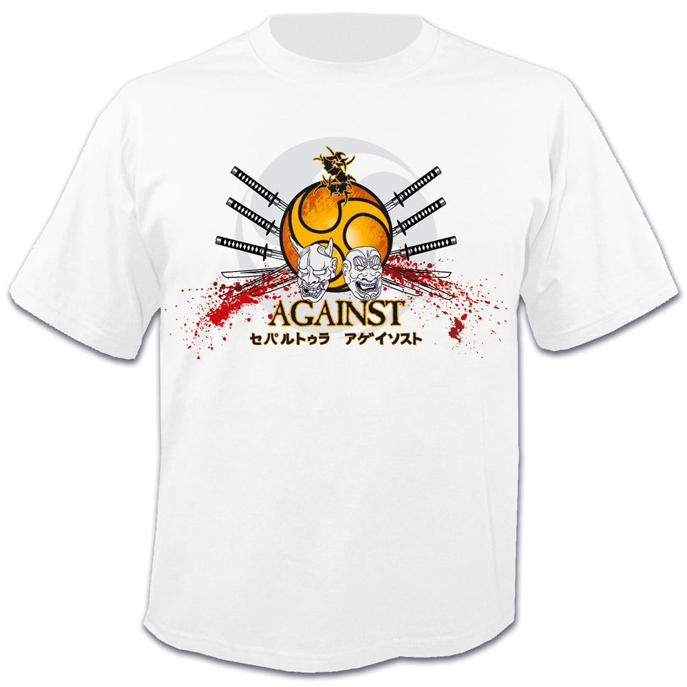 Sepultura - Against, 30 years Anniversary (White)
