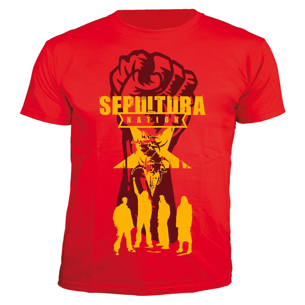 Sepultura - Nation,30 Years Anniversary (Red)