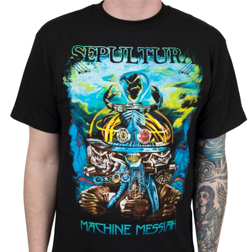 Sepultura - Machine Messiah (Front Print)