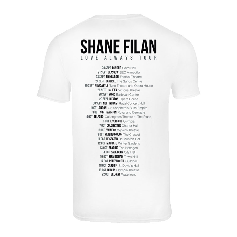 Shane Filan - Love Always Album Artwork (Dateback)