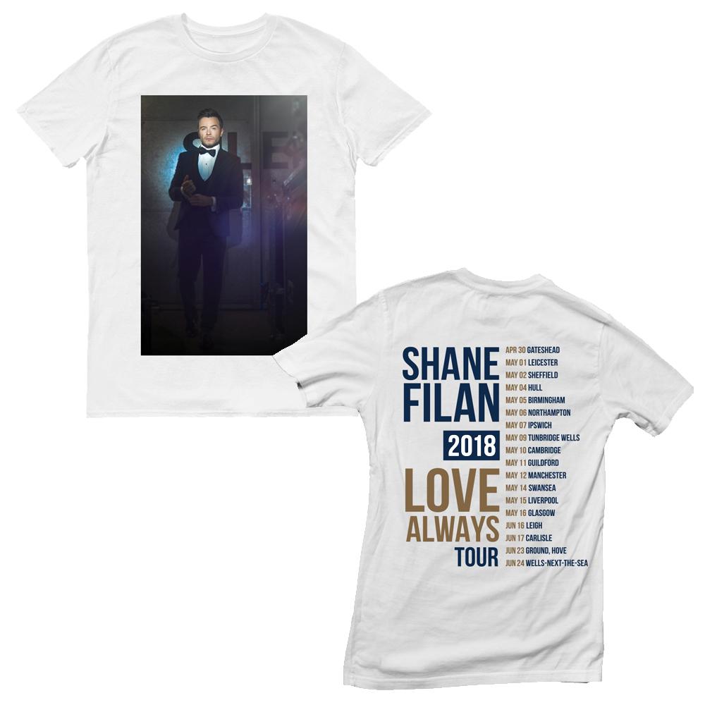 Shane Filan - Portrait Date Back (White)