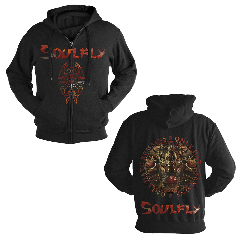 Soulfly - Only Hate Remains (Zip Hoodie)