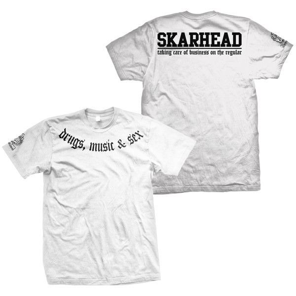 Skarhead - Taking Care Of Business (White)