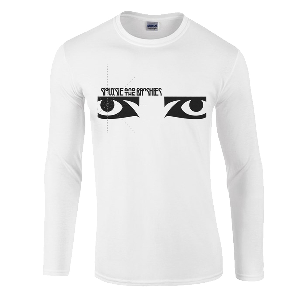 Siouxsie And The Banshees - Eyes Long Sleeve (White)