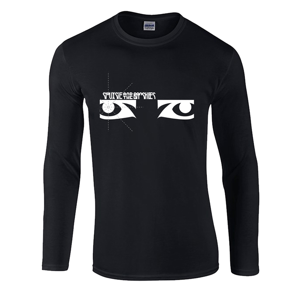 Siouxsie And The Banshees - Eyes Long Sleeve (Black)