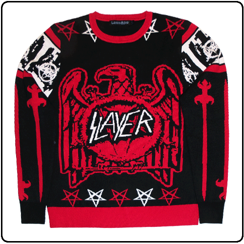 Slayer - Eagle & Swords Xmas Jumper