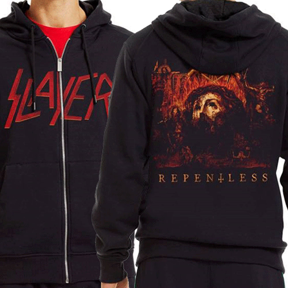 Slayer - Repentless Zipped Hoodie