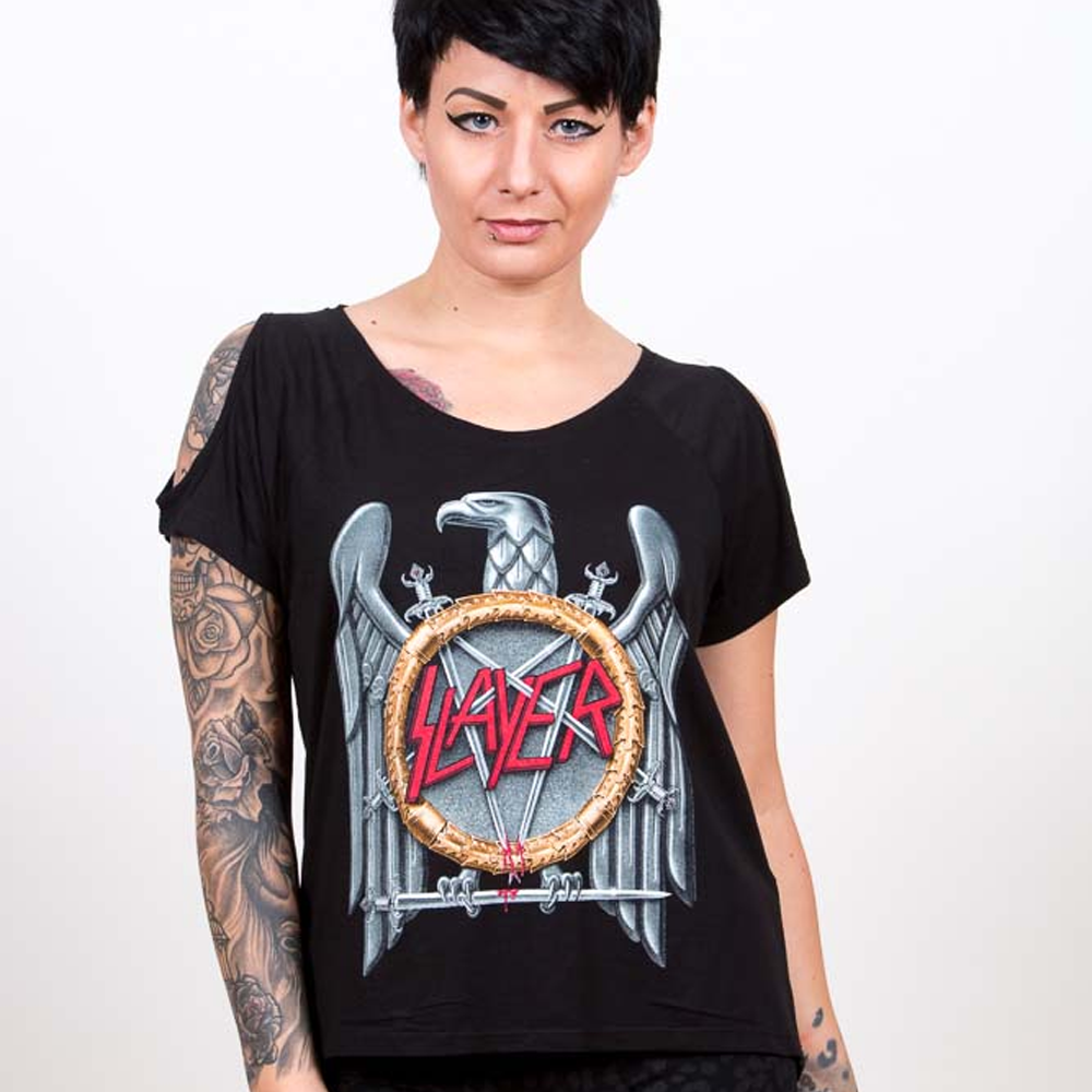 Slayer - Eagle (Black) (Women's)
