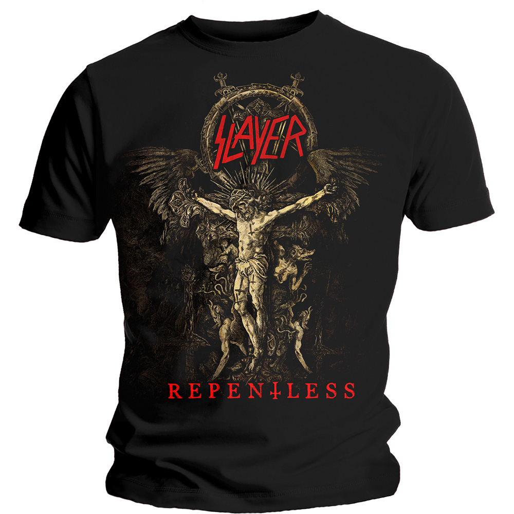 Slayer - Cruciform Skeletal (Black)