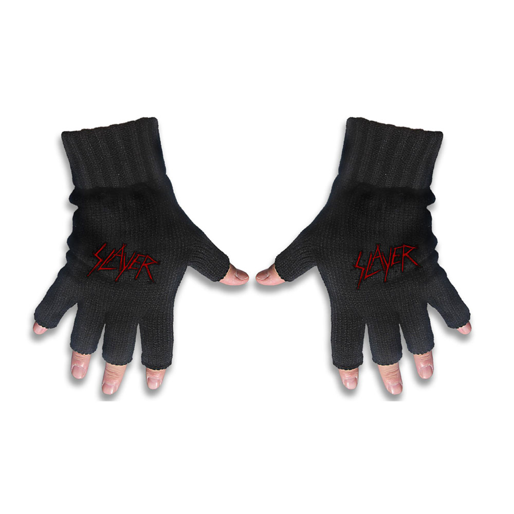 Slayer - Logo Gloves