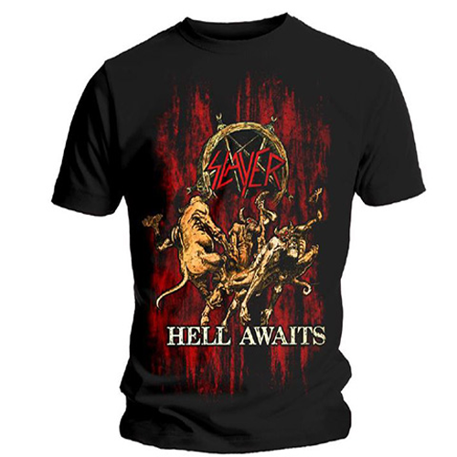 Slayer - Hell Awaits (Black)