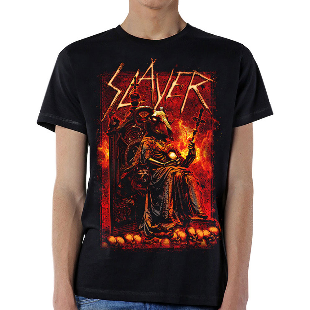 Slayer - Goat Skull (Black)