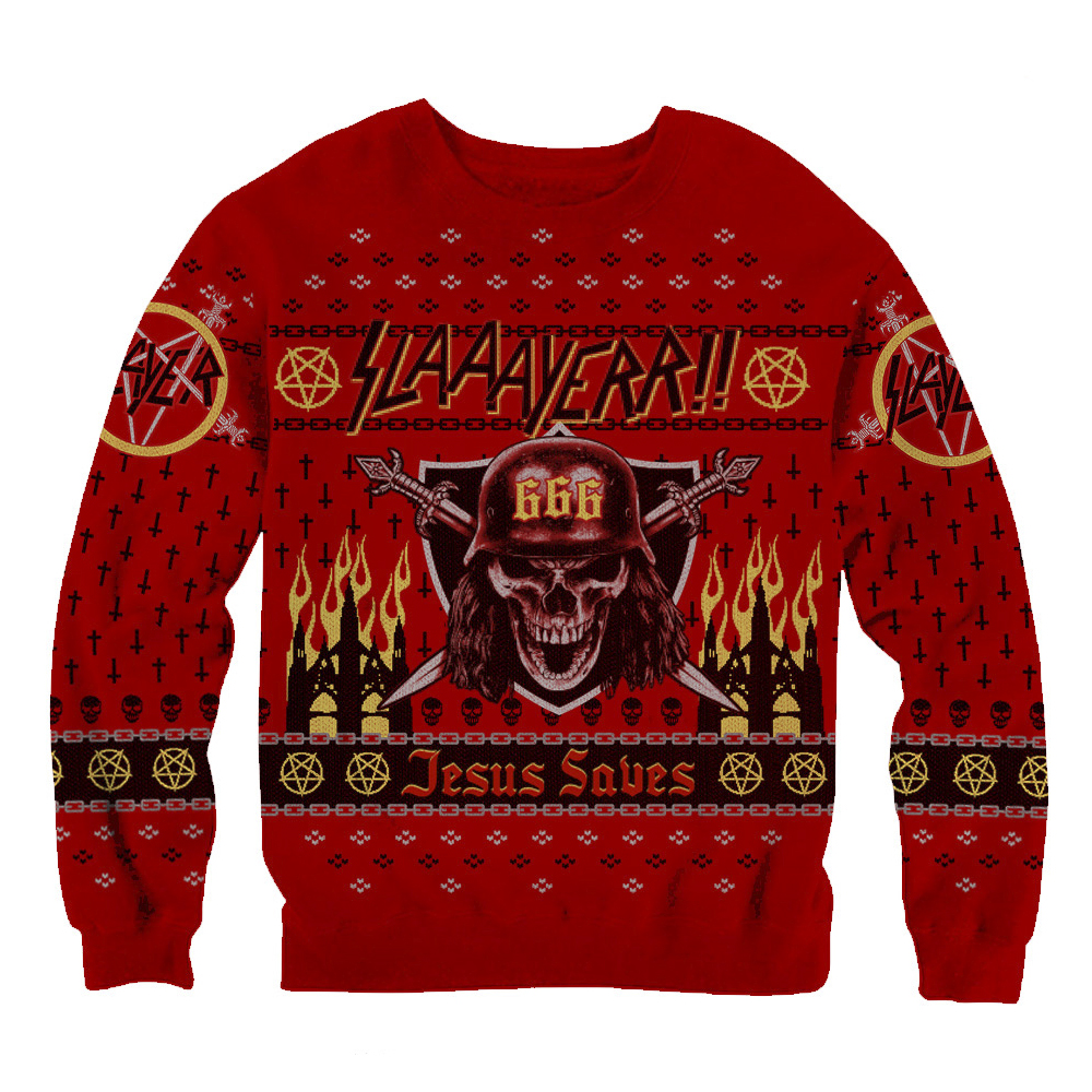 Slayer - Slaaayerr!! Christmas Sweater