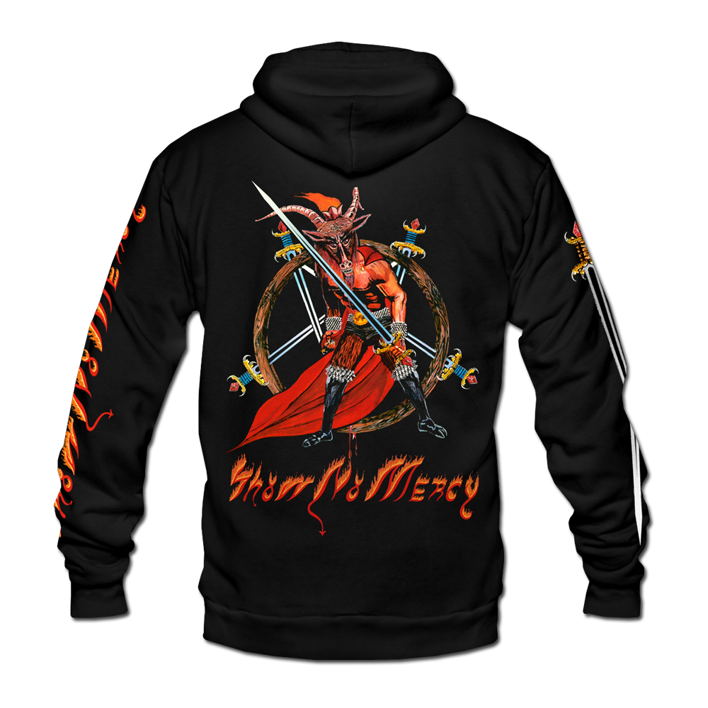 Slayer - Show No Mercy (Zip Hoodie)