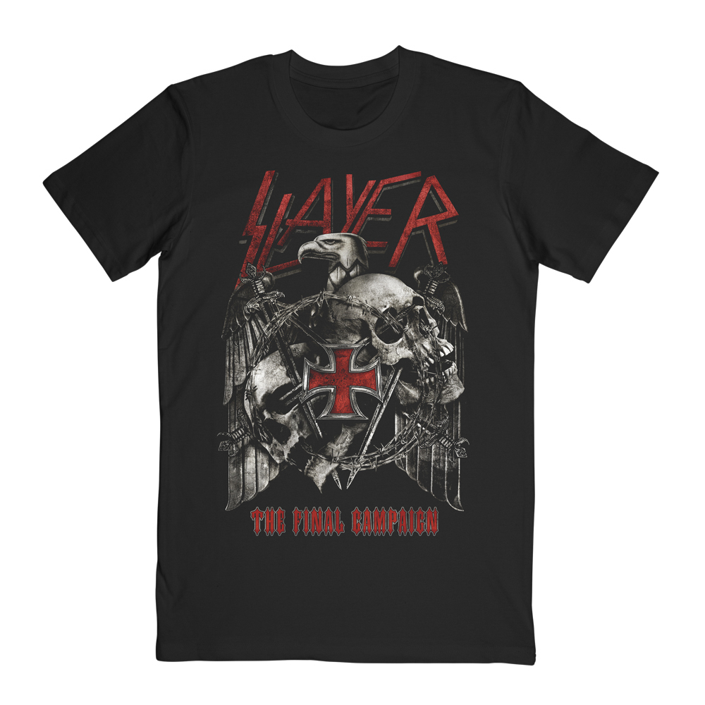 Slayer - Final Campaign 2019 (Date Back)