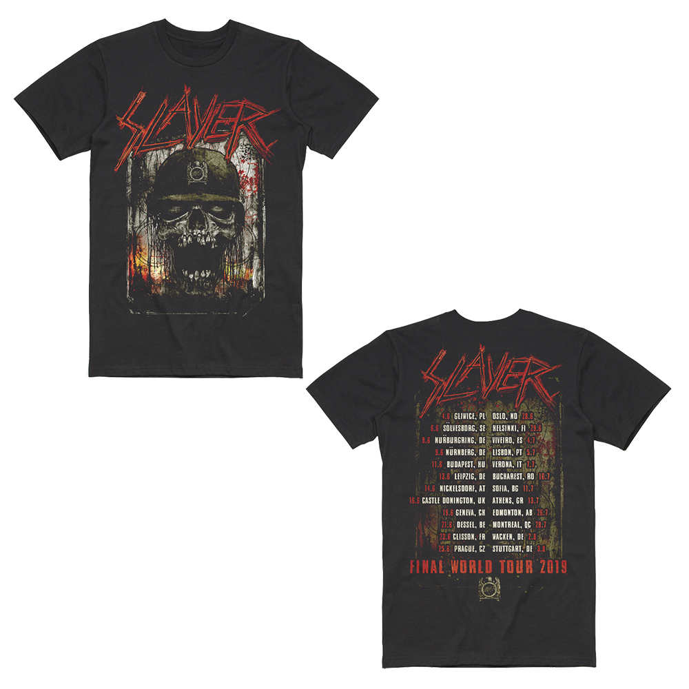 Slayer - Soldier Skull 2019 (Date Back)