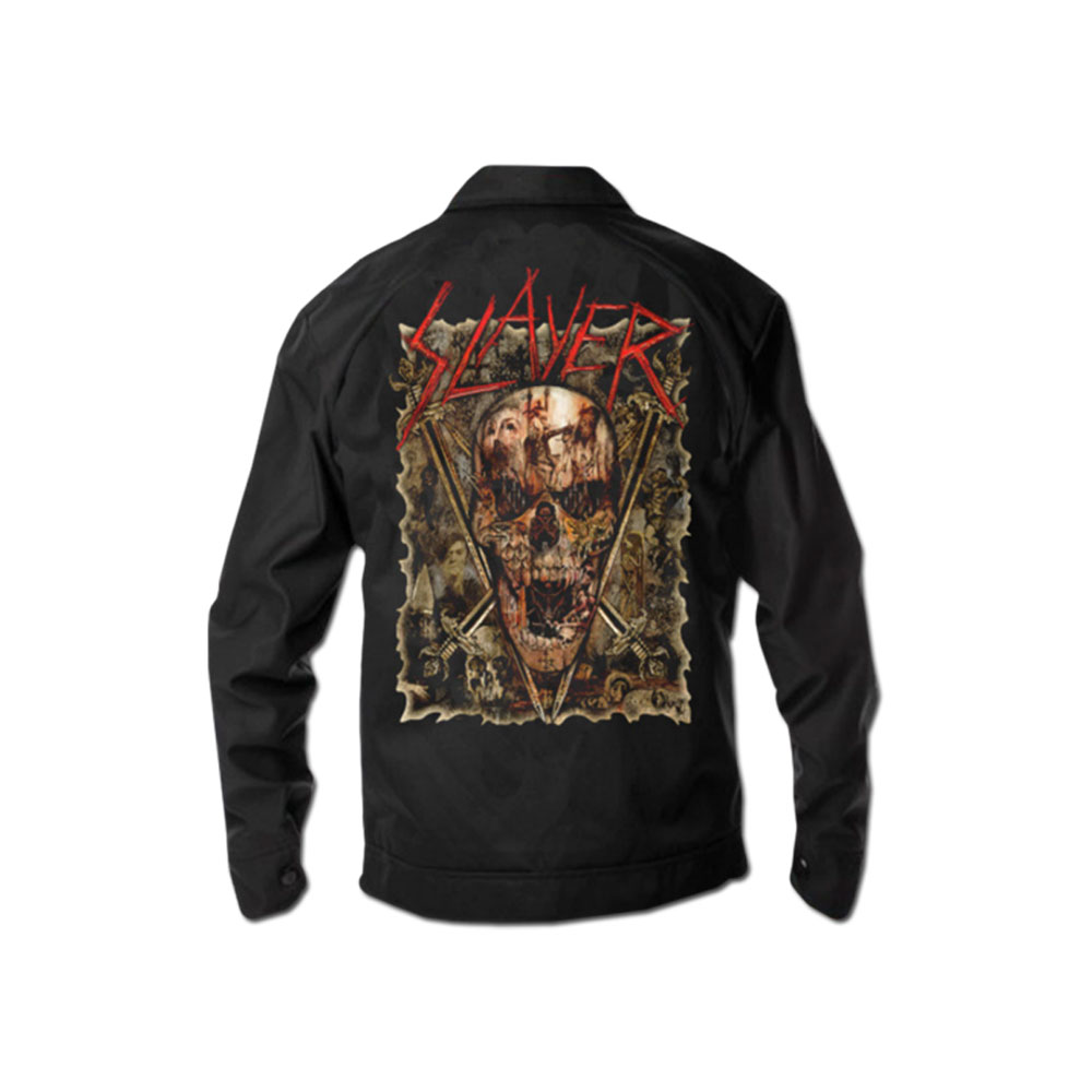 Slayer - Custom Skull Mechanic Jacket