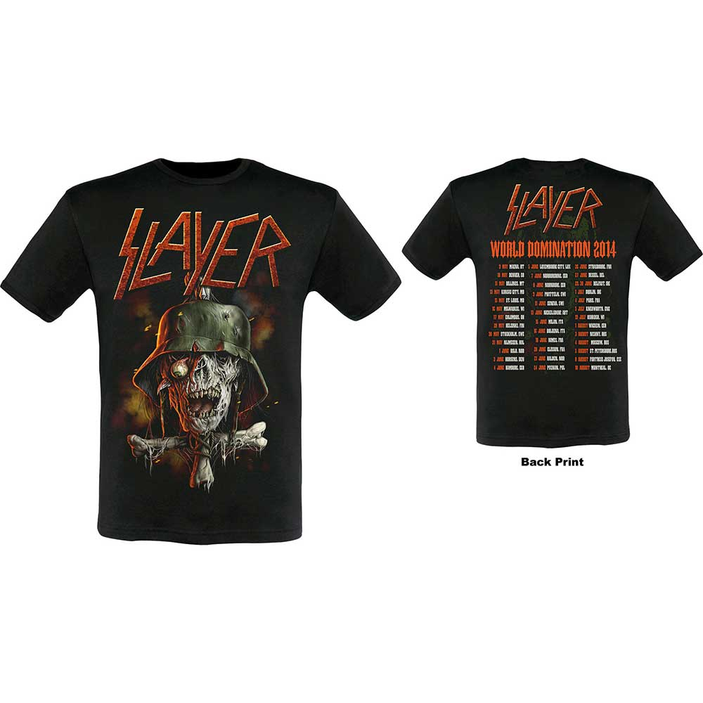 Slayer - Soldier Cross 2014 Dates