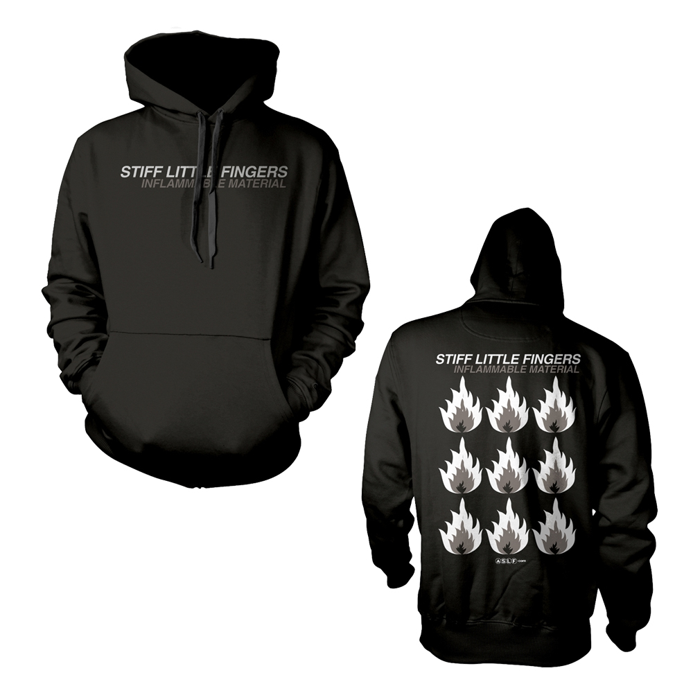 Stiff Little Fingers - Inflammable Material (Hoodie)