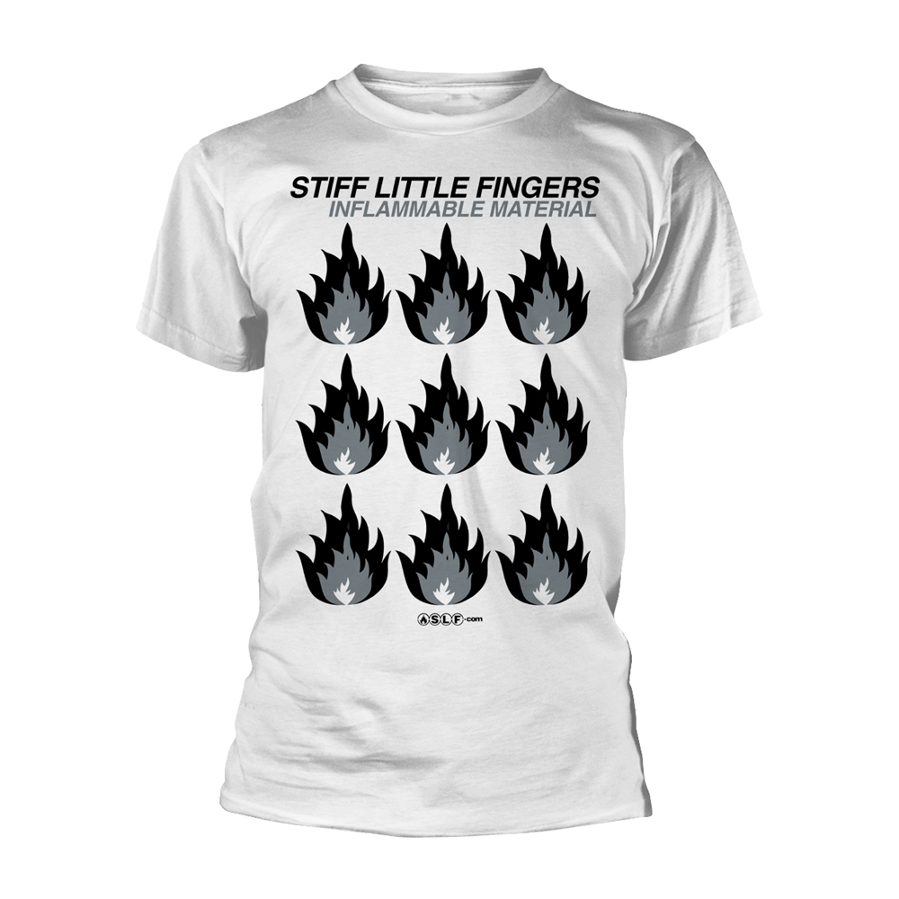 Stiff Little Fingers - Inflammable Material (White)