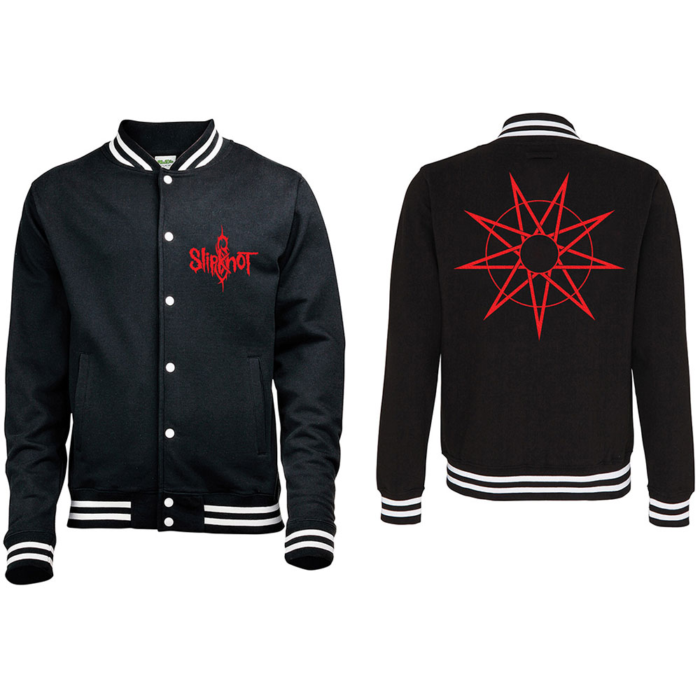 Slipknot - Logo & 9 Point Star (Black)