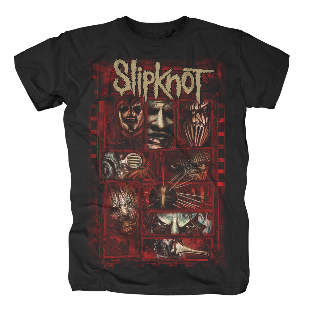 Slipknot - Sketched Boxes (Black)