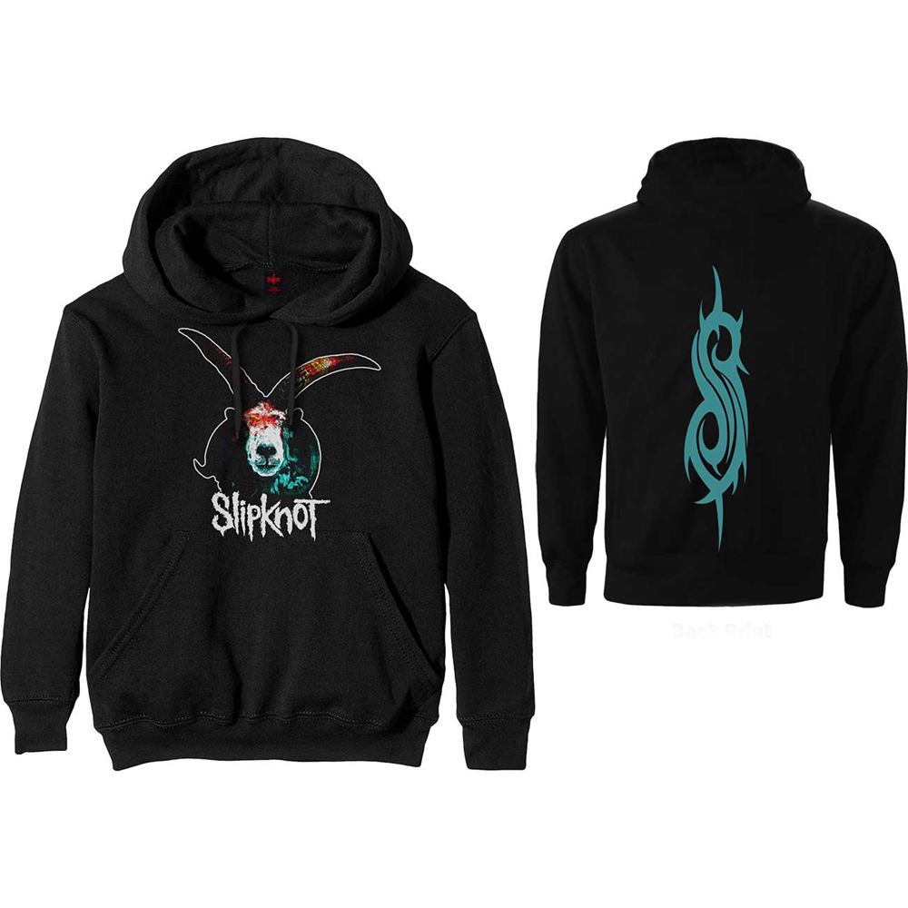 Slipknot - Graphic Goat (Back Print) (Hoodie)