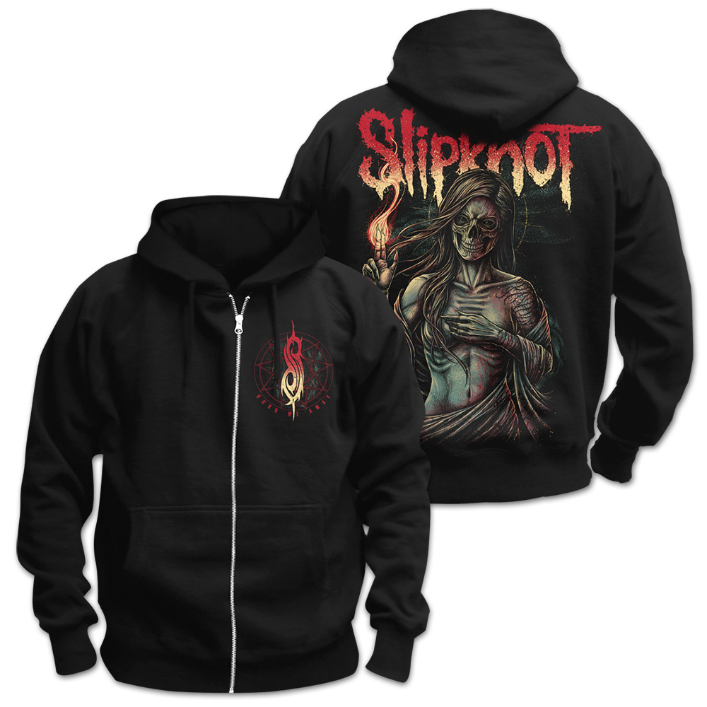 Slipknot - Burn Me Away (Zip Hoodie)