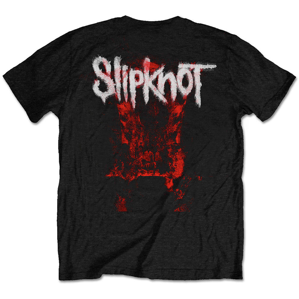 Slipknot - Devil Single - Logo Blur (Back Print)