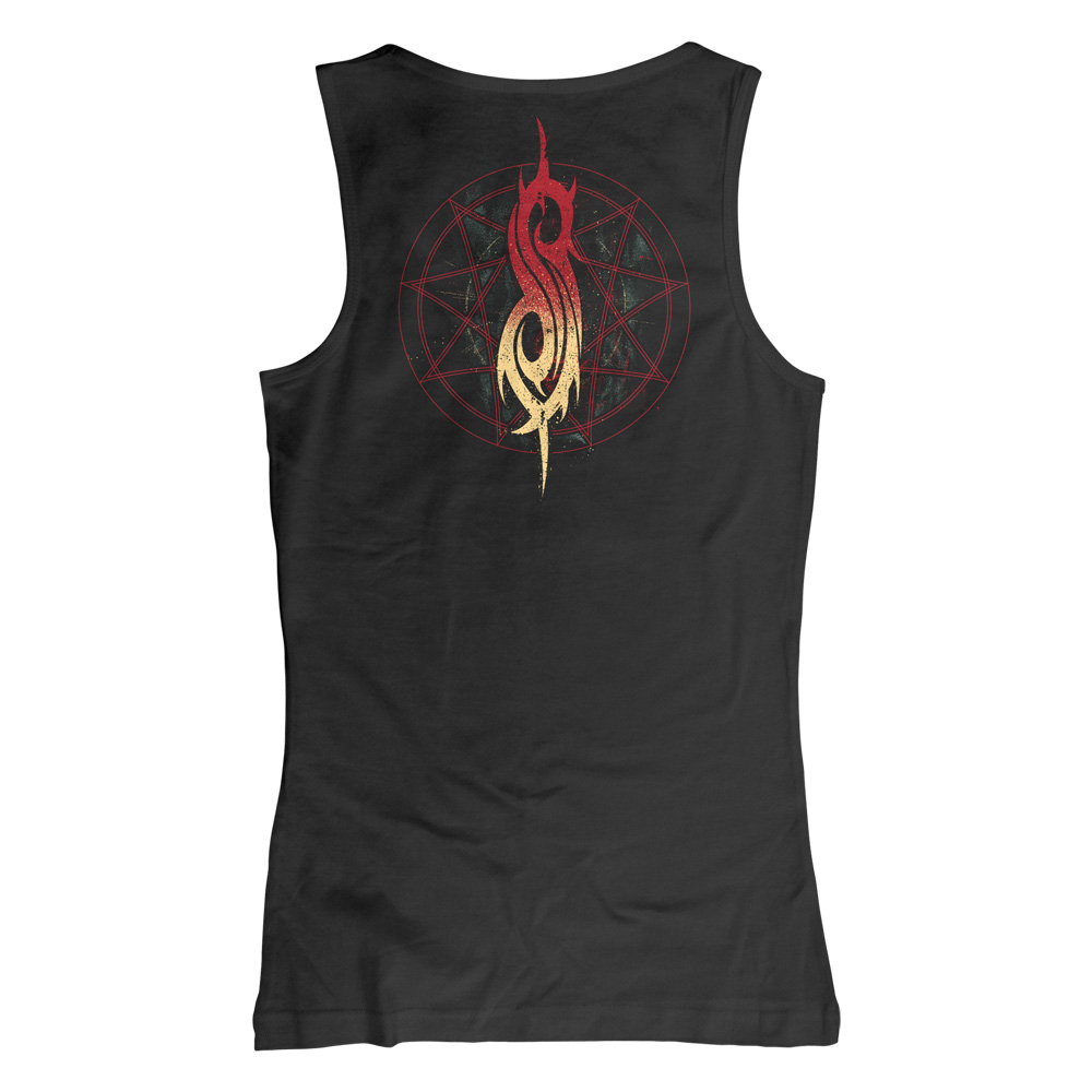 Slipknot - Burn Me Away (Ladies Tank Top)
