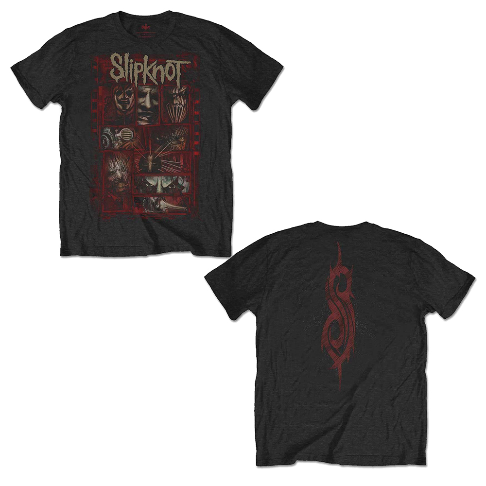 Slipknot - Sketch Boxes (Back Print)