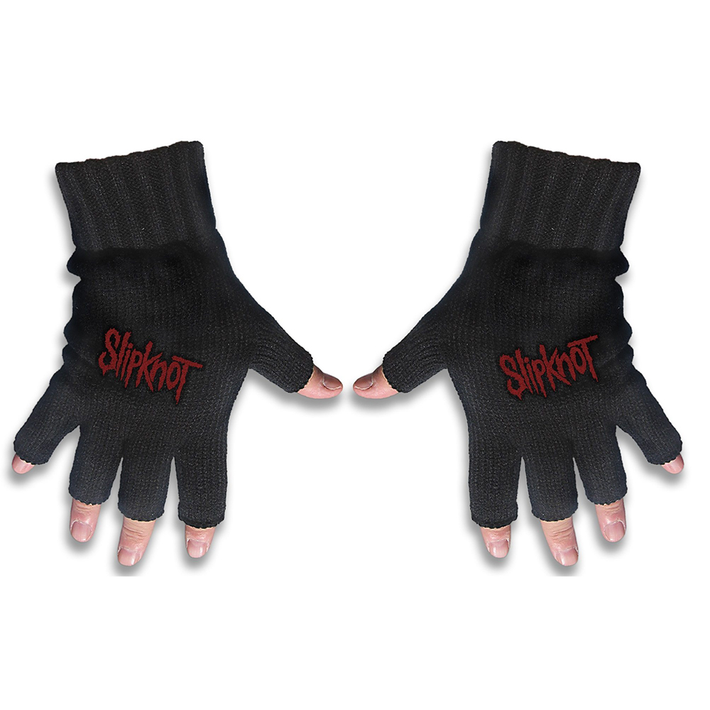 Slipknot - Logo (Embroidered Gloves)