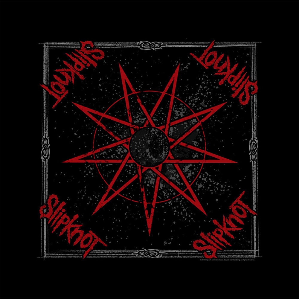 Slipknot - Nine Pointed Star (Bandanna)