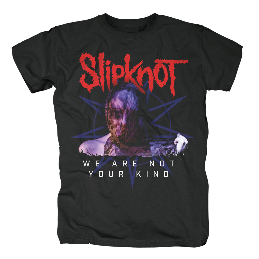 Slipknot - We Are Not Your Kind Bold Letters