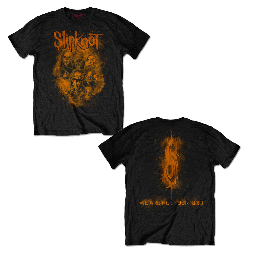 Slipknot - WANYK Orange (Back Print)