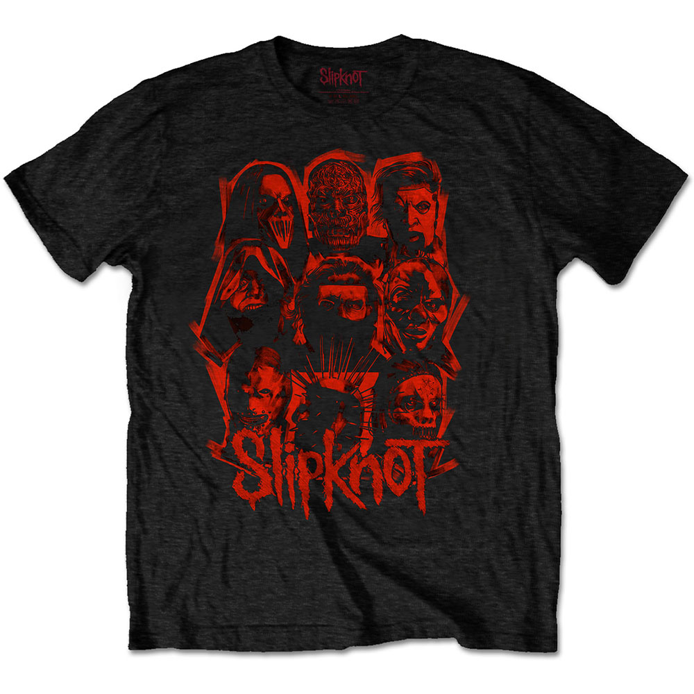 Slipknot - WANYK Red Patch (Back Print)
