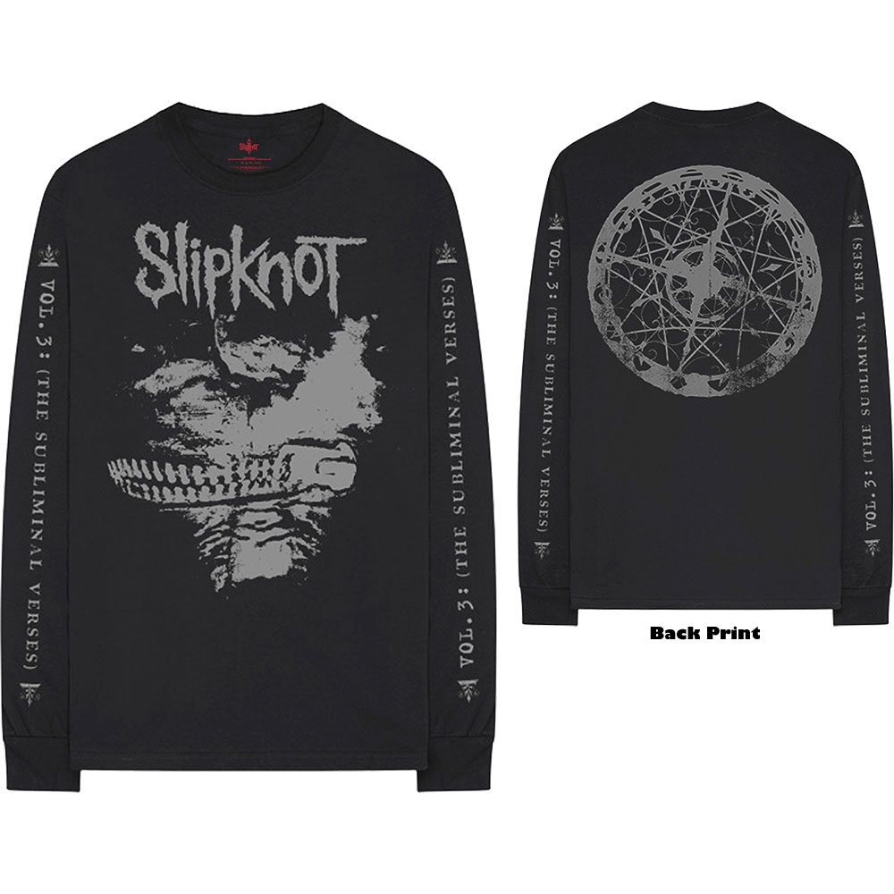 Slipknot - Subliminal Verses (Back & Arm Print)