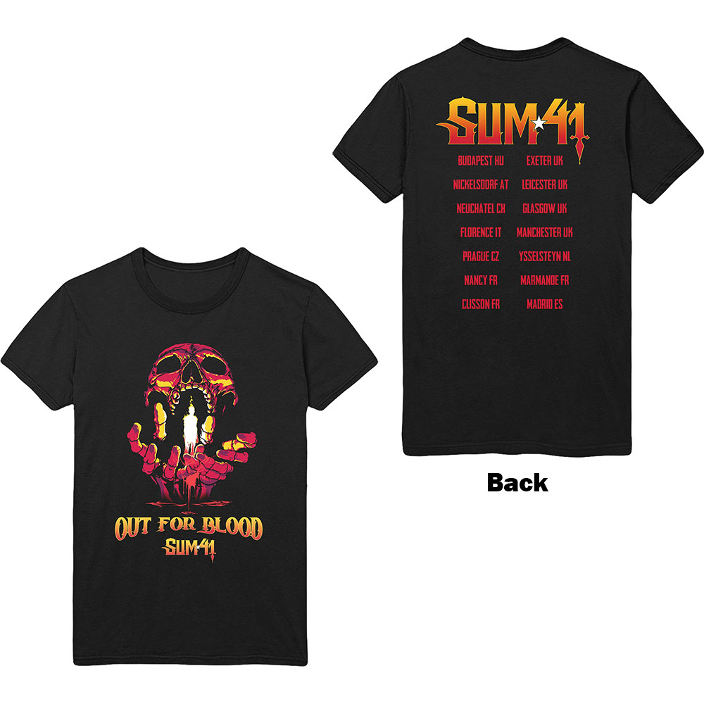 Sum 41 - Out For Blood (Back Print)
