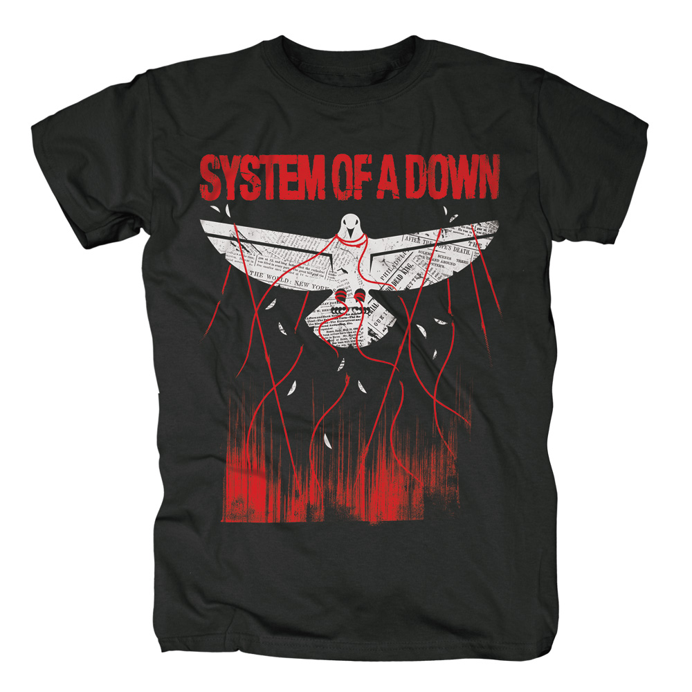 System Of A Down - Overcome (Black)