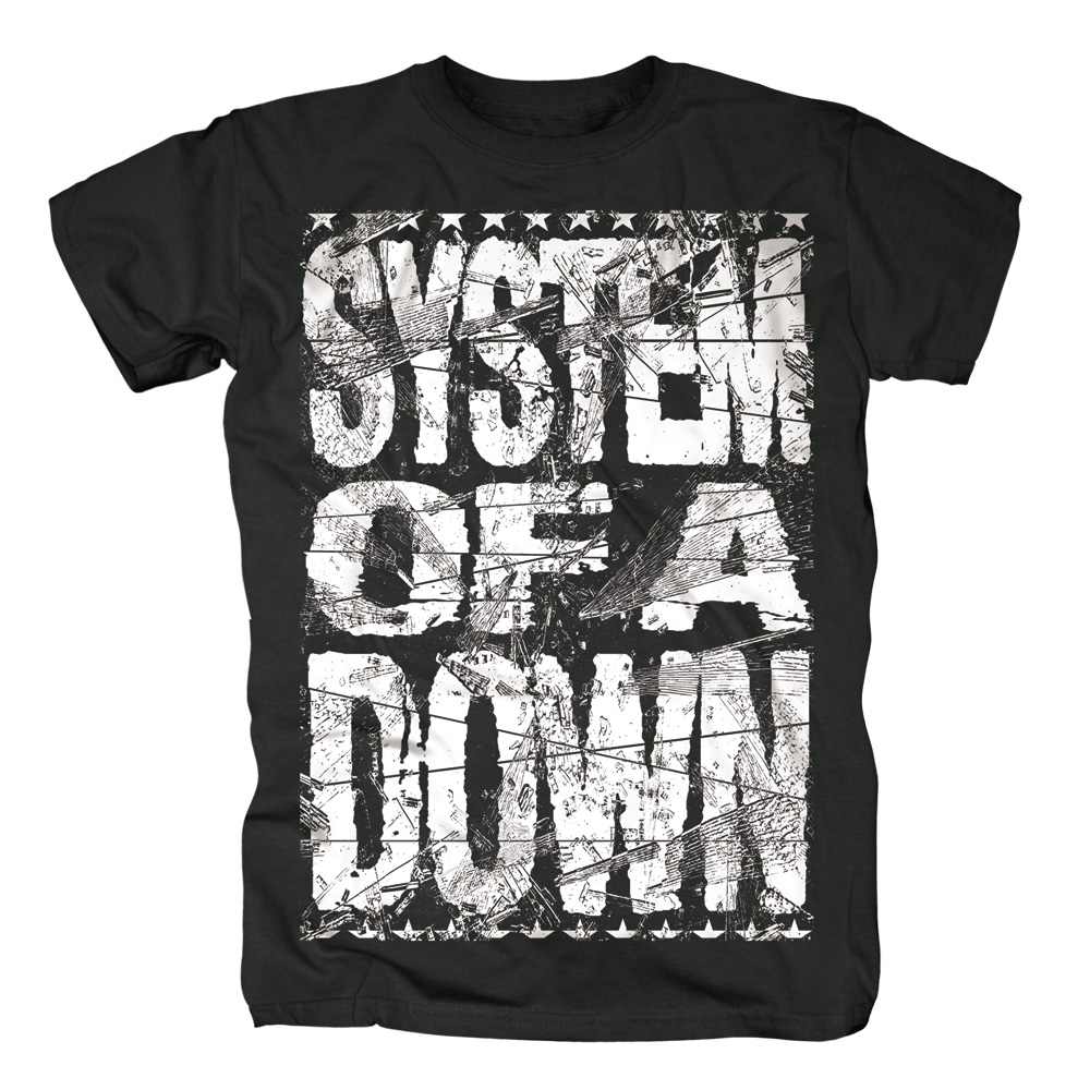 System Of A Down - Shattered (Black)