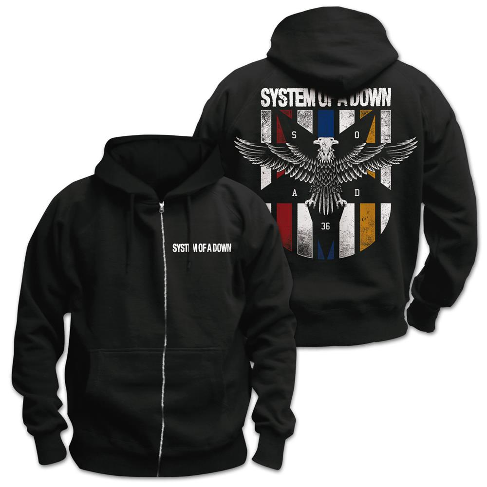System Of A Down - Eagle Colors II (Black)