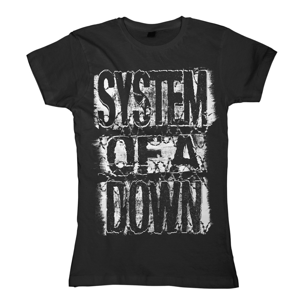 System Of A Down - Keep Out (Black) (Women's)