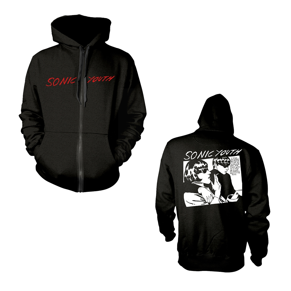 Sonic Youth - Goo Album Cover (Zip Hoodie)