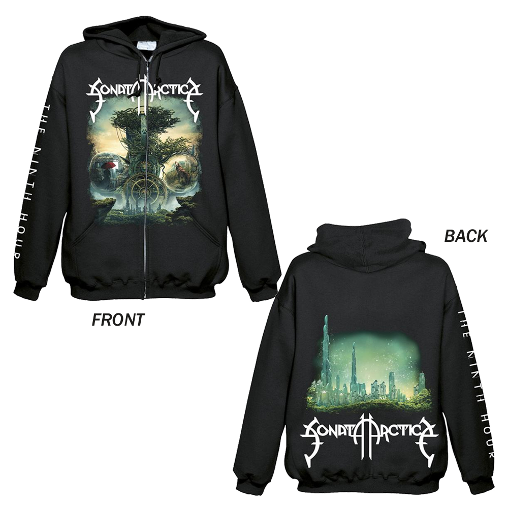 Sonata Arctica - The Ninth Hour (Zipped Hoodie)
