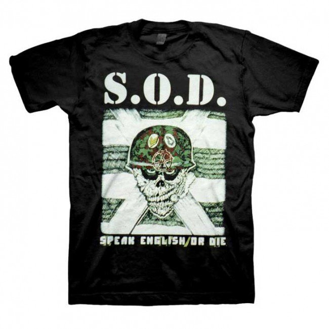 Stormtroopers Of Death - Speak English Or Die (Black)