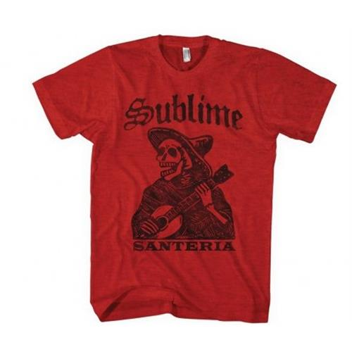 Sublime - Santeria Skeleton (Red)