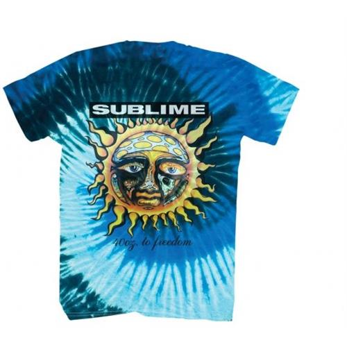 Sublime - 40oz To Freedom Tye Dye (Blue)