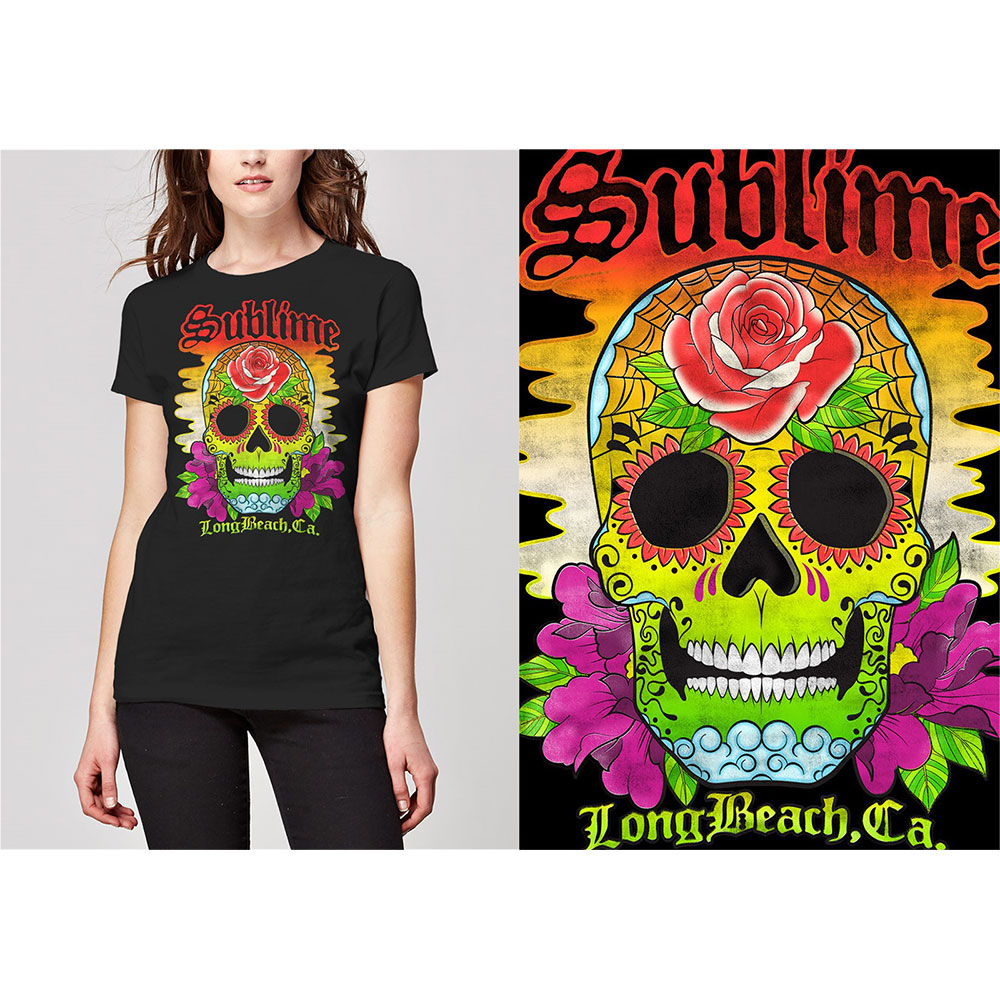 Sublime - Colour Skull