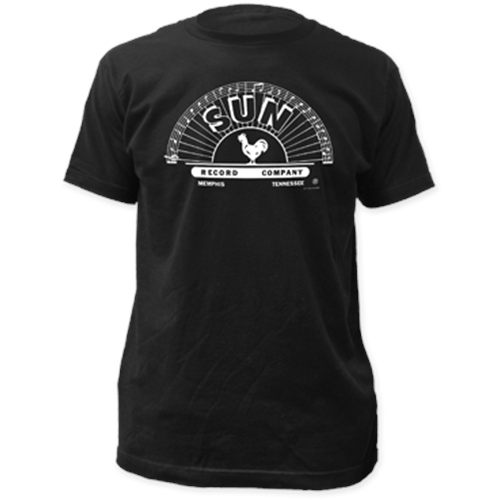 Sun Records - B&W Logo (Black)